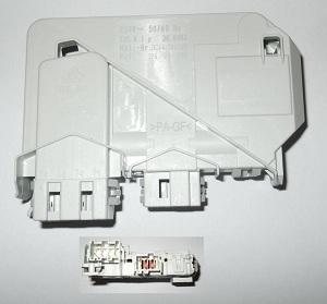 Устройство блокировки  дверки люка стиральной машины SAMSUNG