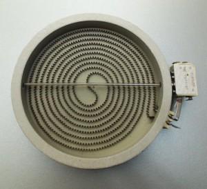 Конфорка для плиты со стеклокерамической панелью