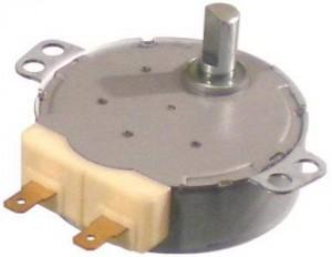 двигатель вращения тарелки поддона свч