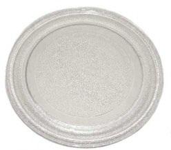 стеклянная тарелка-поддон диаметр 320 мм