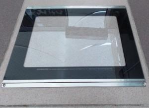 внутренне стекло дверки духовки электроплиты ЗВИ