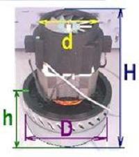 как подобрать двигатель к пылесосу