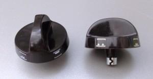 черная ручка к переключателю мощности 2ПМ 16-5-08