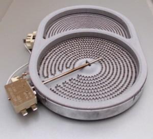 конфорка овальная гусятница для стеклокераммических варочных панелей электроплит ЗВИ