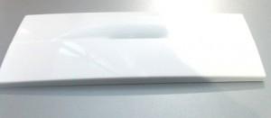 откидная панель белая пластиковая для холодильника Канди