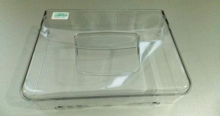 передняя прозрачная пластиковая часть ящика для фруктов холодильника Аристон \ Индезит