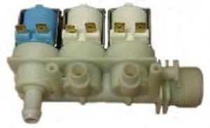 заливной клапан на 3 секции для стиральных машин Аристон, индезит купить в зеленограде