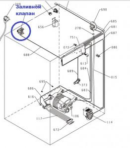 электромагнитные клапаны стиральных машин Зеленоград