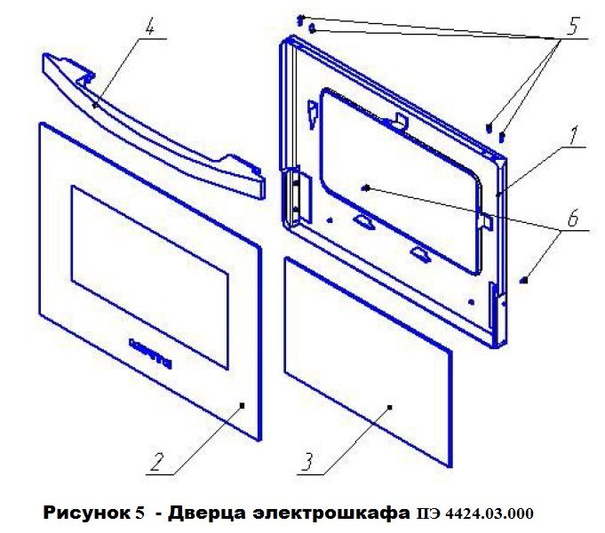 ремонт дверцы духовки